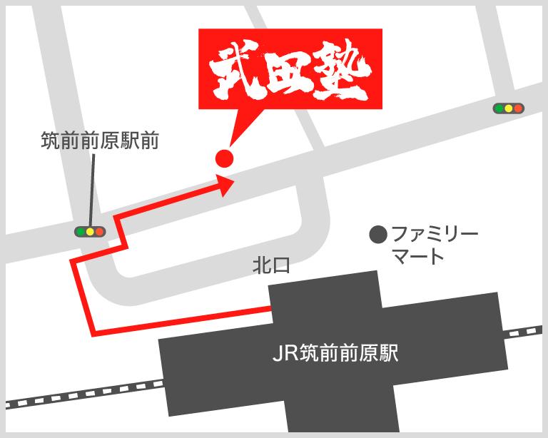 筑前前原校地図
