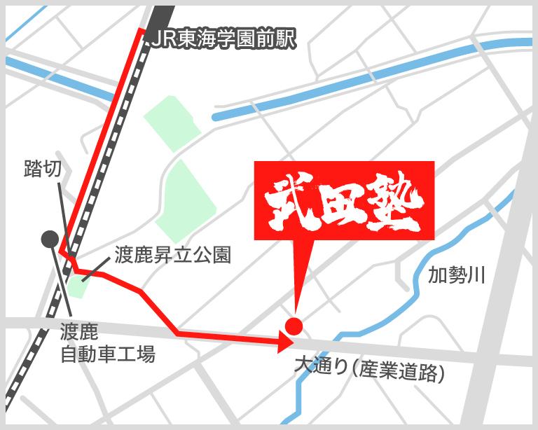 保田窪帯山校地図