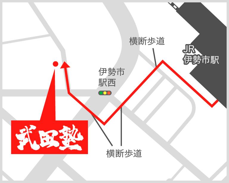 伊勢校地図