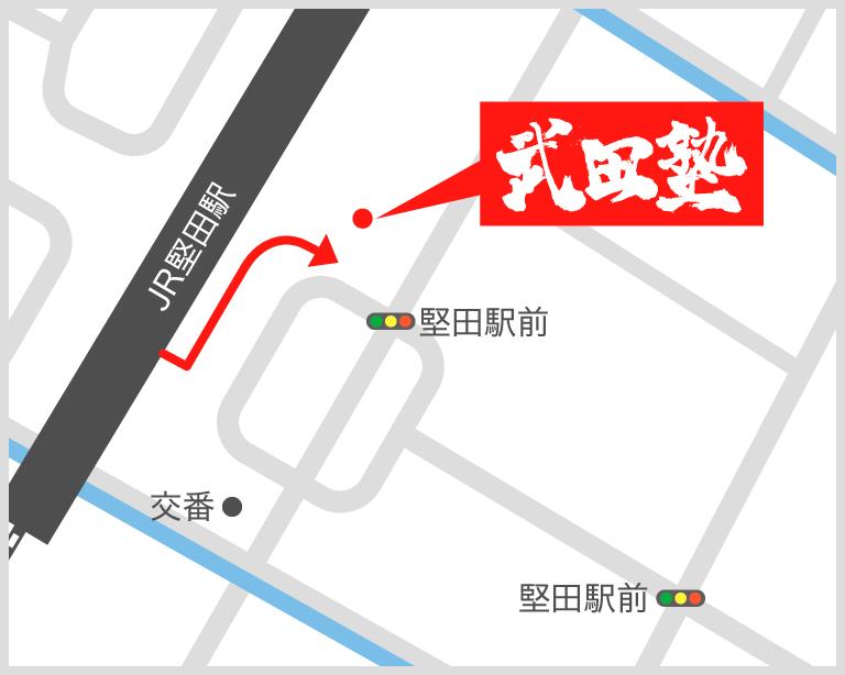 堅田校地図