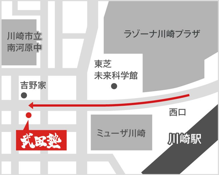 川崎校地図