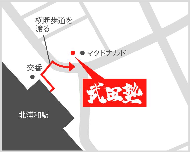 北浦和校地図