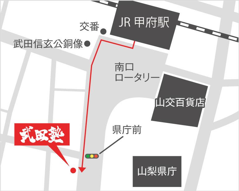 甲府校地図