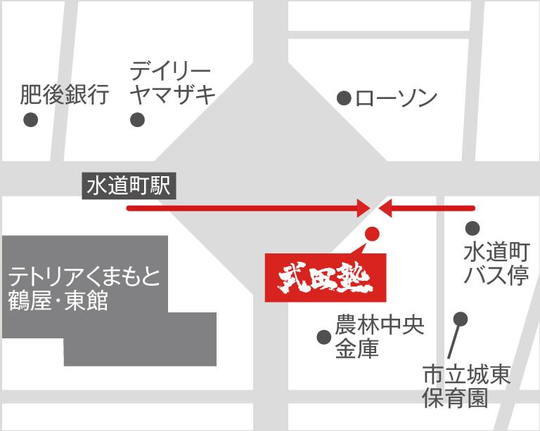 熊本校地図