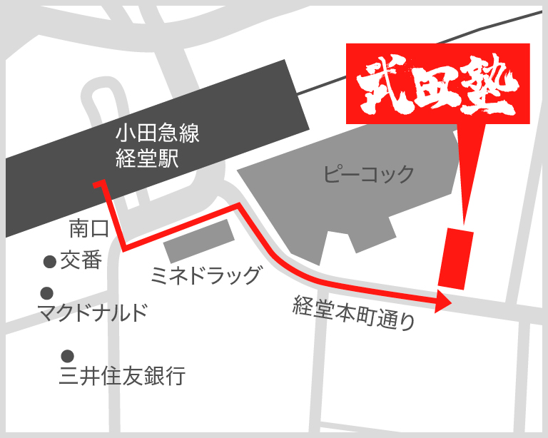経堂校地図
