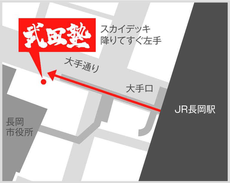 長岡校地図