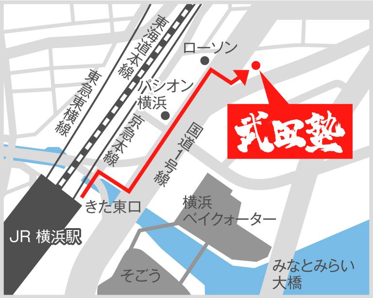横浜校地図