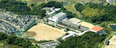 向陽台高校写真
