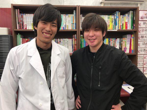 近畿大学と京都産業大学に現役合格 !