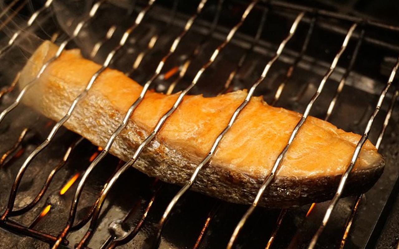 朝食の焼き魚