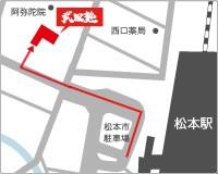 松本校略地図