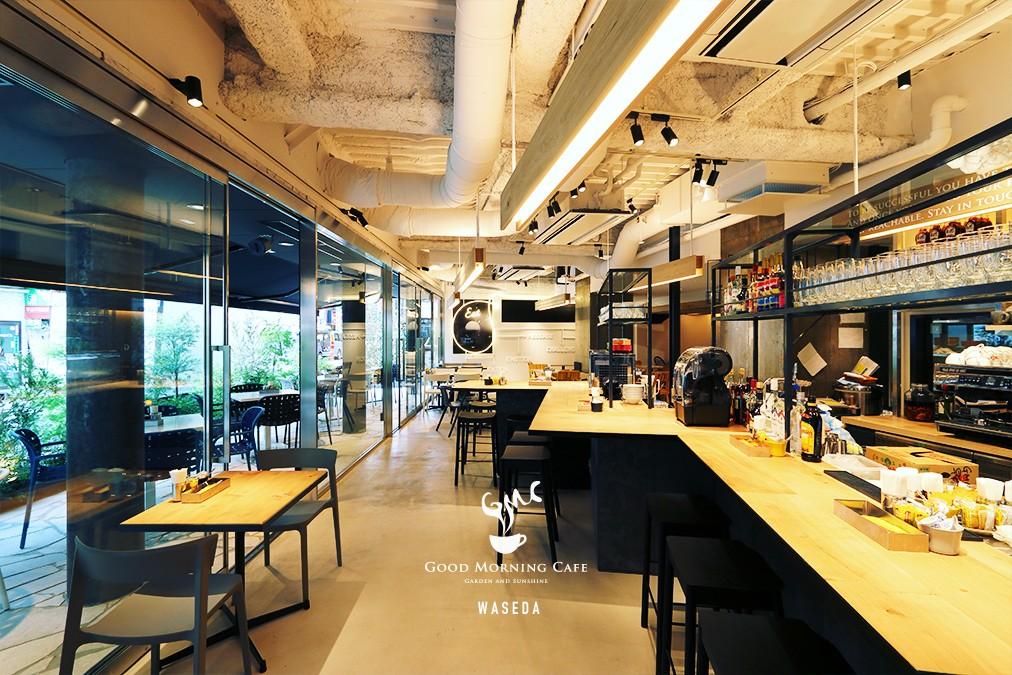 image of morning cafe