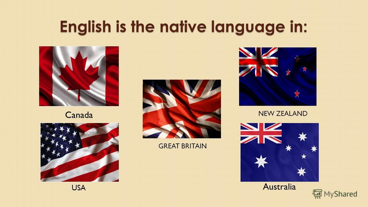 English nartive coutries for image