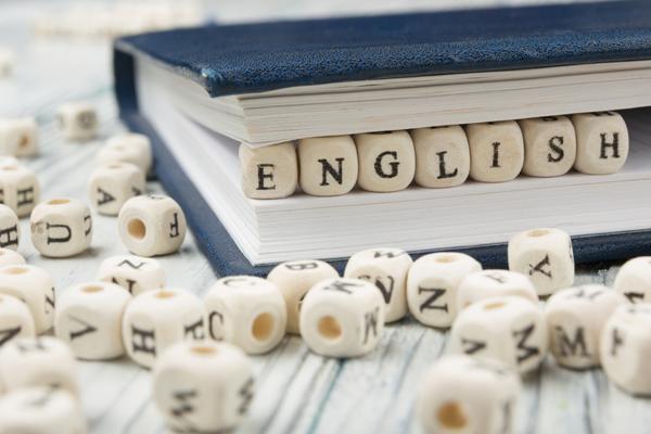 英語の積み木