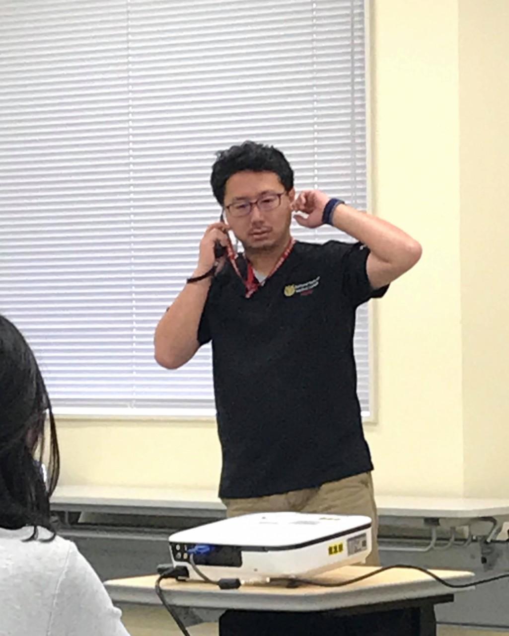 秋冨慎司准教授