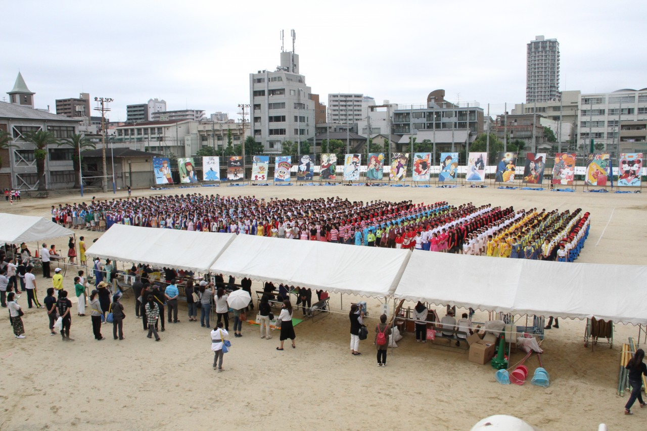 高津高校 体育祭