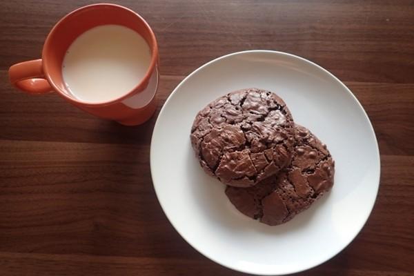 クッキーとカフェオレ