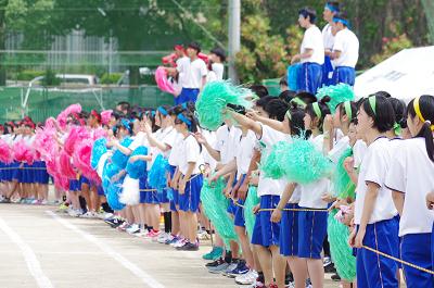 千里青雲高校 体育祭
