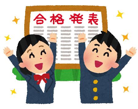 合格発表_武田塾王寺校