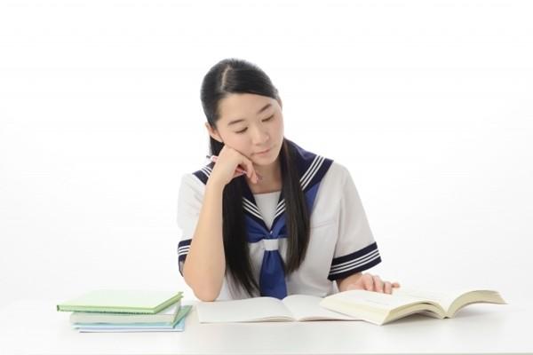 勉強中の受験生
