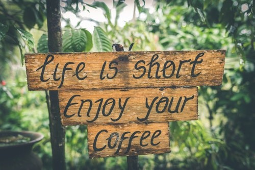 shallow-photography-of-life-is-short-enjoy-your-coffee-888992