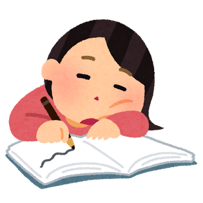 study_yaruki_nai_woman