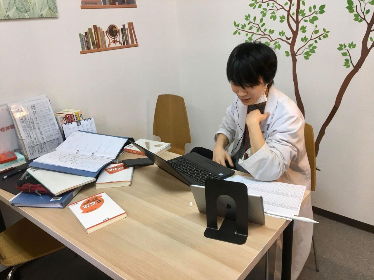 武田塾 西宮北口校 コロナ オンライン Skype 特訓 個別 授業 予備校