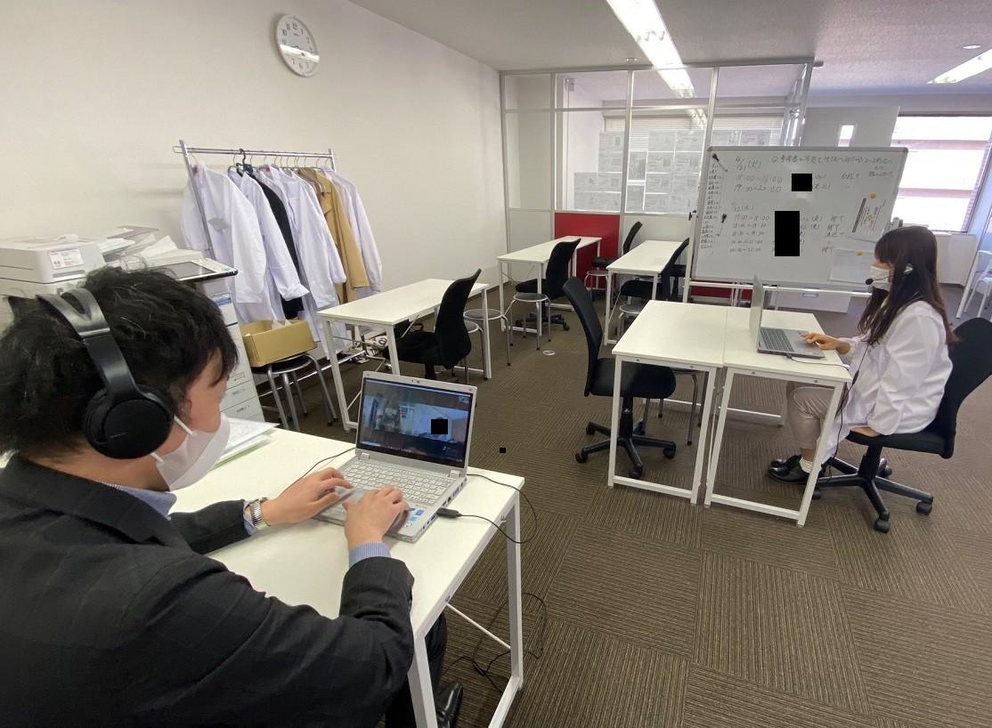 武田 個別 オンライン 面談 講師 生徒 1対1 自宅学習 板宿 湊川