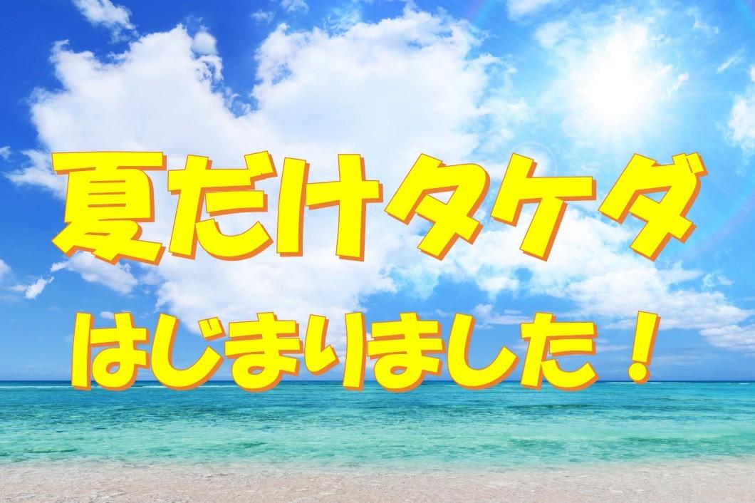 夏だけタケダ2020