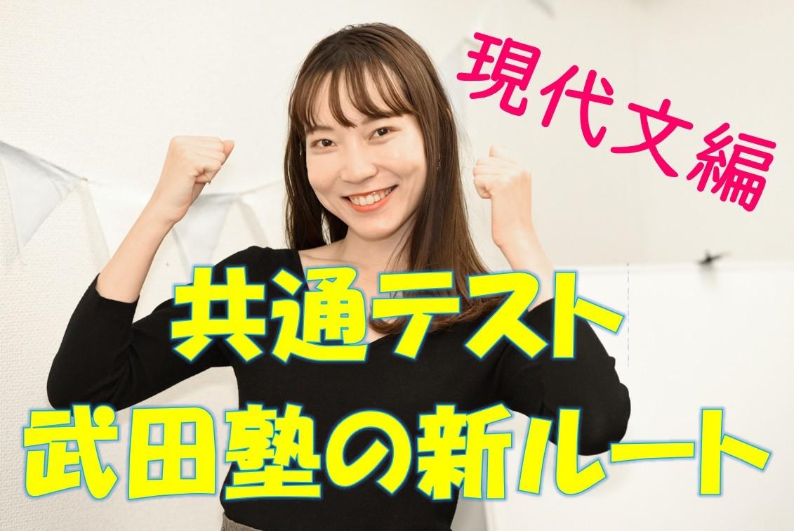 武田塾新ルート現代文編