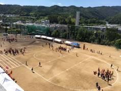 箕面東高校 体育祭1