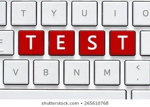 keyboard-test-button-computer-white-260nw-265610768