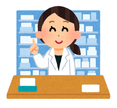 女性の薬剤師