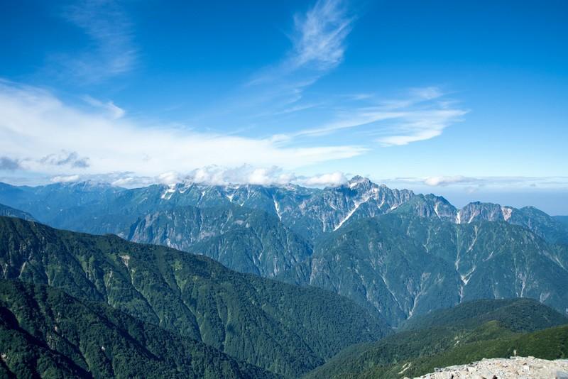 綺麗な山脈の画像
