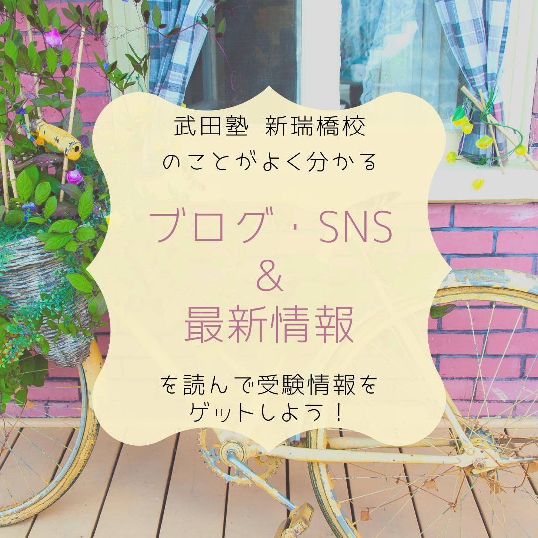 ブログ・SNS & 最新情報