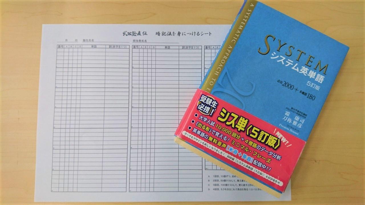 英単語勉強法