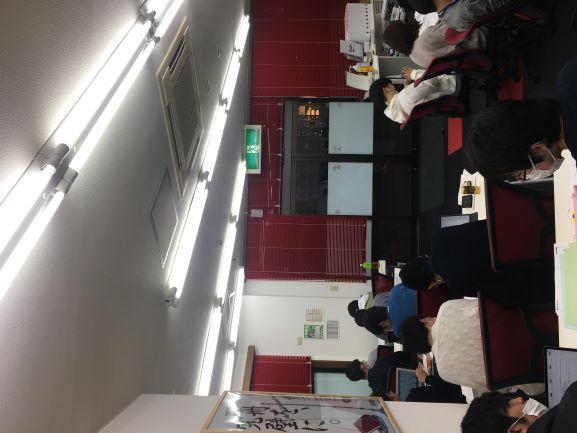 2020 12月 教室の風景(サムネ)