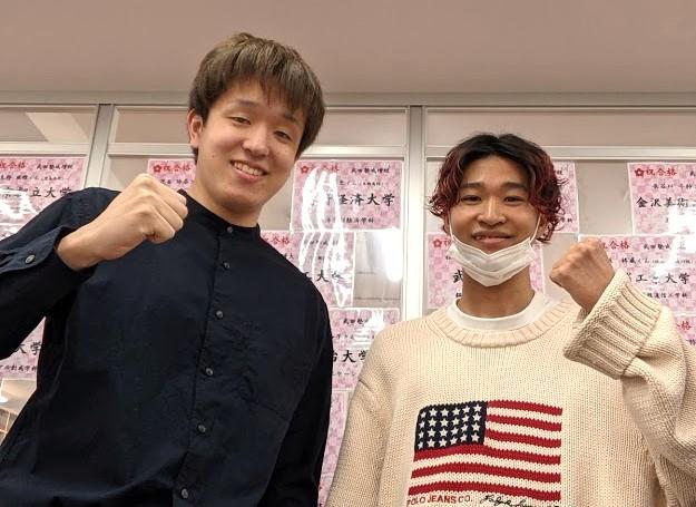 河合先生と鈴木君