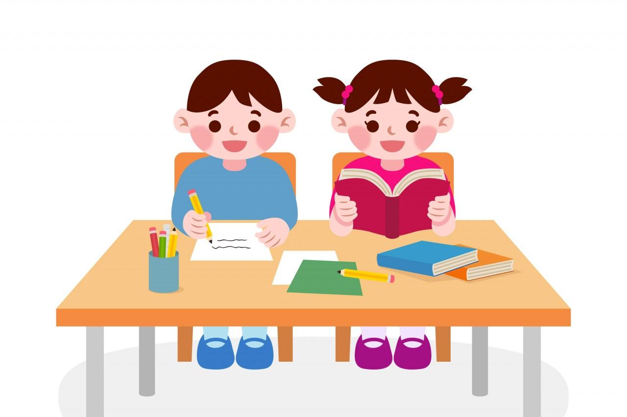 ふたりで勉強