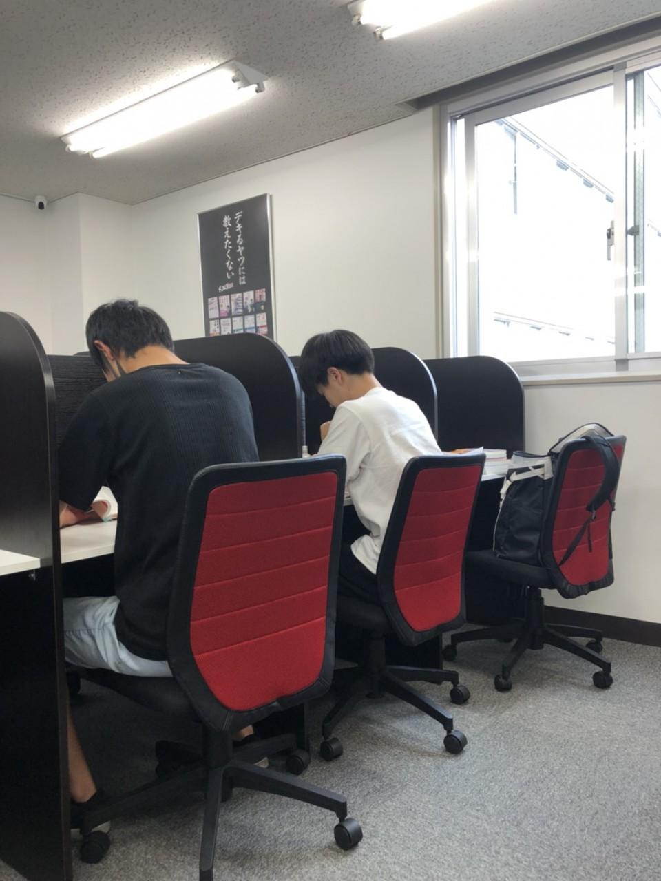 武田塾大井町校の自習室の様子