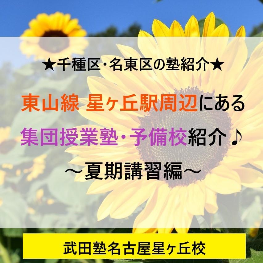 集団塾夏期講習
