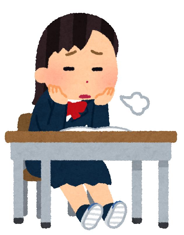 yaruki_nai_school_girl